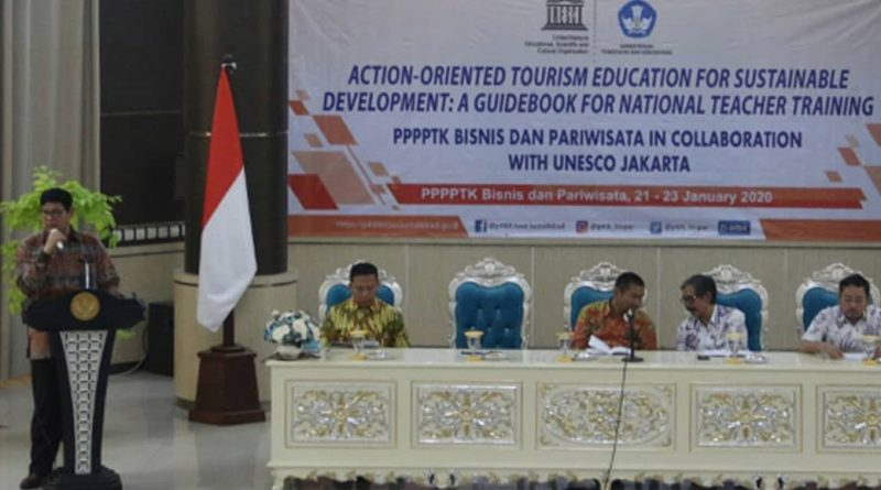 Kerja Sama PPPPTK BISPAR dengan UNESCO Jakarta dalam Kegiatan Action-oreinted Tourism Education for Sustainable Development