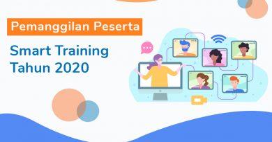 Pemanggilan Peserta Smart Training Tahun 2020