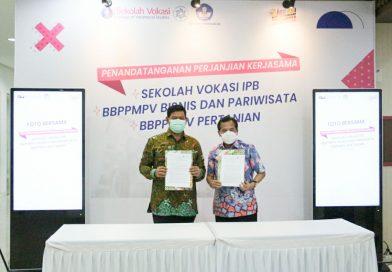 BBPPMPV Bisnis dan Pariwisata Meresmikan Kerja Sama dengan Sekolah Vokasi IPB Bogor