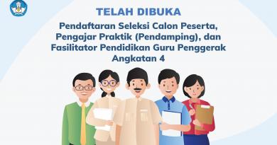 Telah Dibuka Program Guru Penggerak (PGP) Angkatan 4