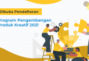 Pendaftaran Program Pengembangan Produk Kreatif 2021